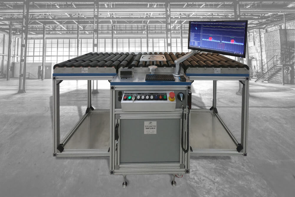 Eddy current system for automated inspection of aircraft wheels - SmartScan-FA